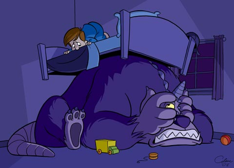 7 Monsters Like Hiding Under The Bed Stuff Monsters Like