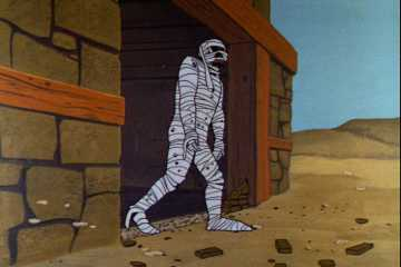 Johnny Quest mummy