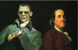 Franklin and Frankenstein, July 27, 1782