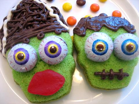 halloween-cupcakes-frankenstein
