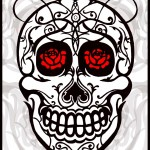 """Skull and Roses"" by Joshua Marc Levy"