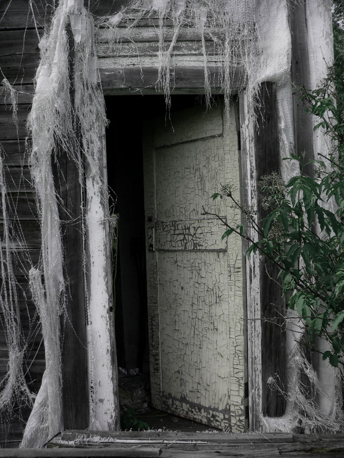 Scary halloween door decorations - Haunted House Archives Stuff Monsters Like