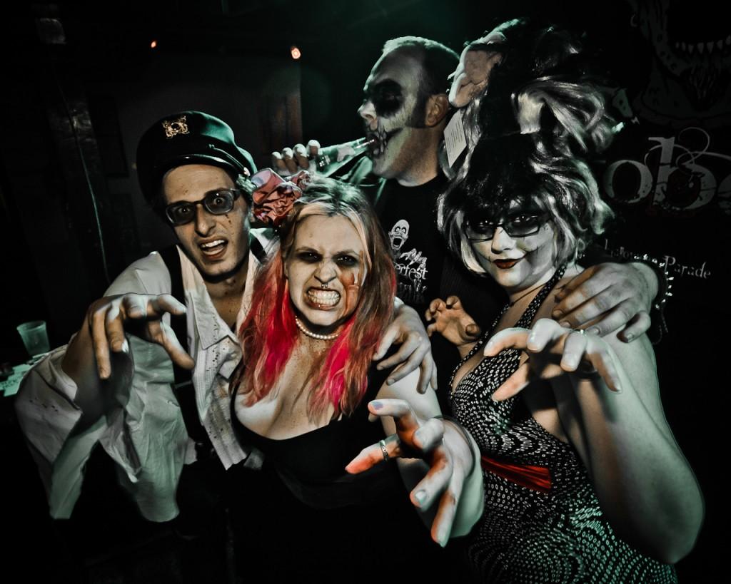 2012 Zombie Prom preceding the Walk