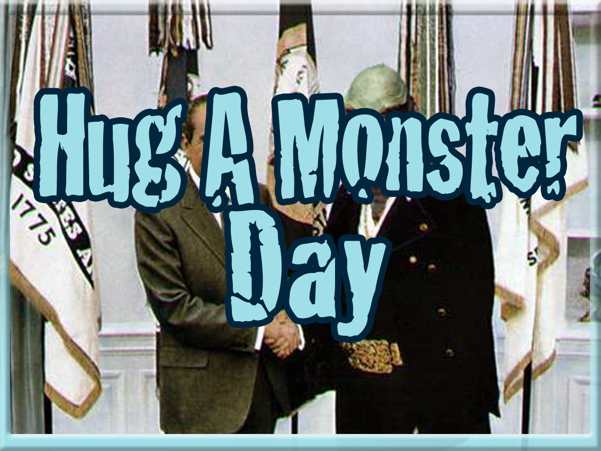 Hug A Monster Day