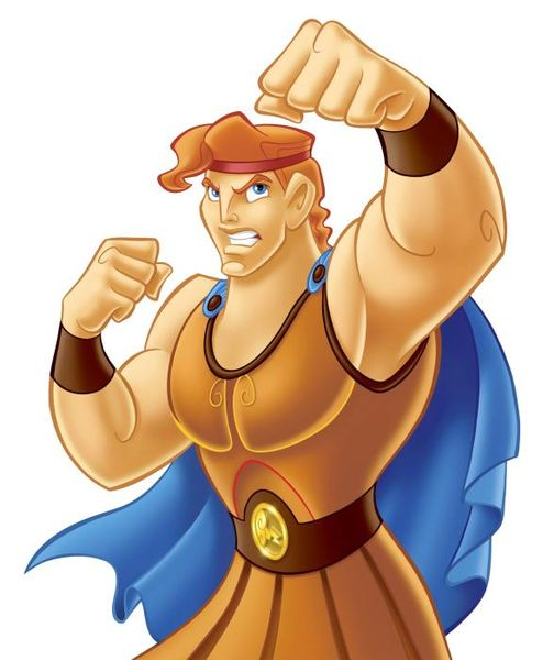 Disney characters without their beards funny - Hercule walt disney ...