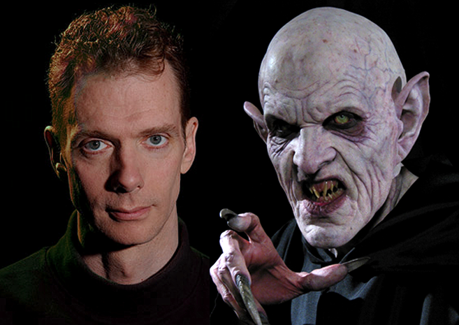 Doug Jones as the new vision of Count Orlok - Makeup FX by Spectral Motion