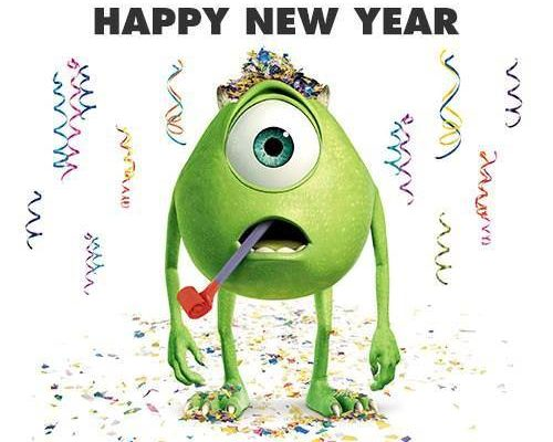 473. Monsters Like Making New Year's Resolutions