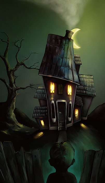 Monsters like haunting large houses