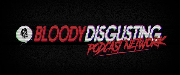 logo for Bloody Disgusting's podcast network